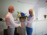 Tatjana Breyer feiert Firmenjubiläum